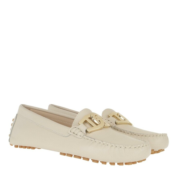 Schuh, AIGNER, Anna Moccassin Off White