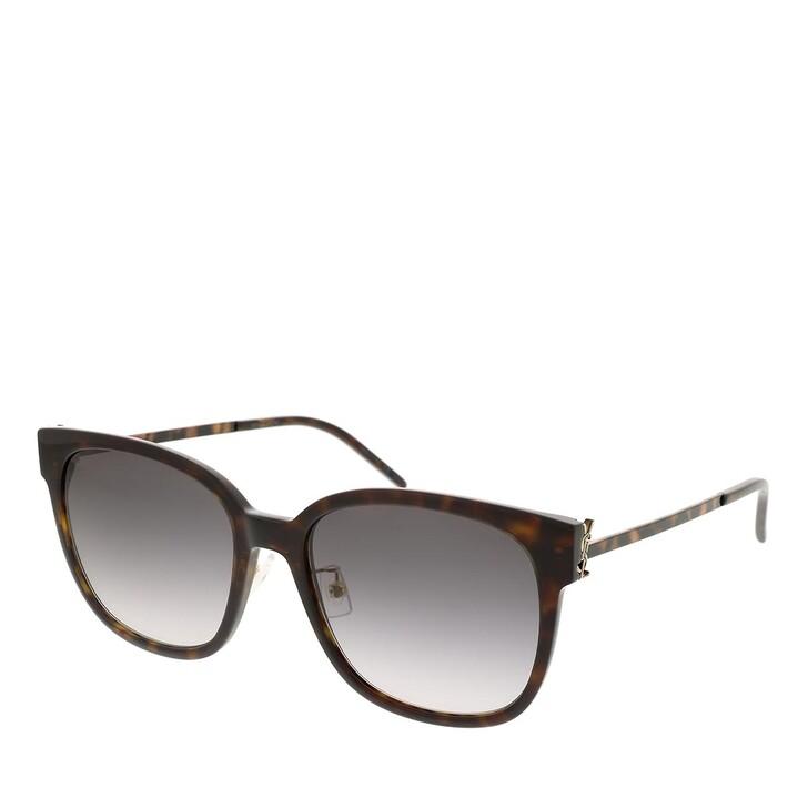 sunglasses, Saint Laurent, SL M48S_C/K-004 57 Sunglass  Woman Acetate Havana-Gold-Grey