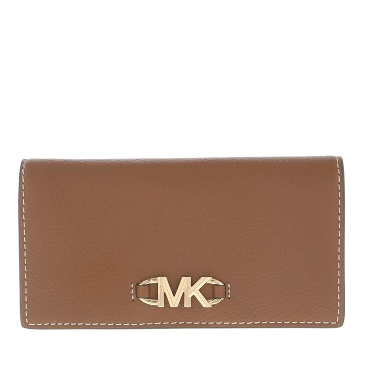 Geldbörse, MICHAEL Michael Kors, Izzy Large Slim Wallet Luggage