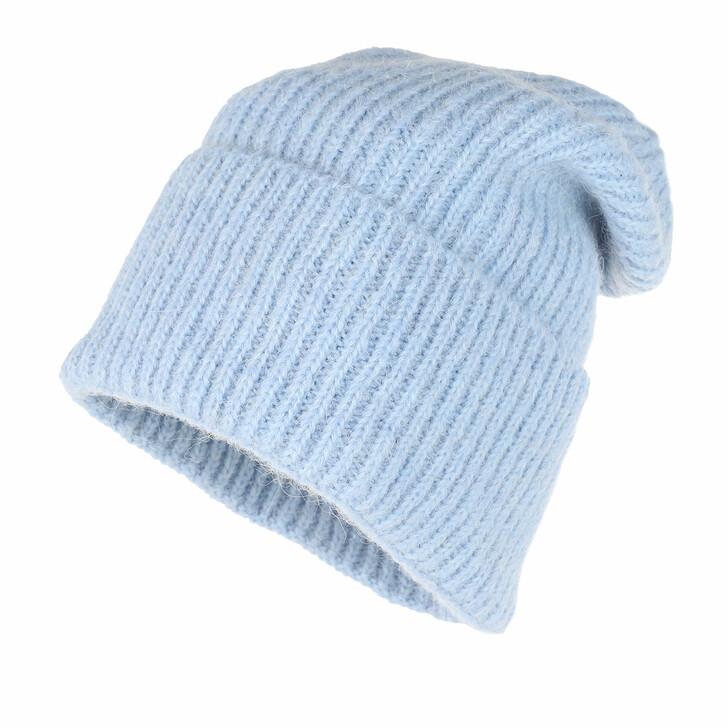 Mütze, Becksöndergaard, Jadia Wool Mix Beanie Light Blue