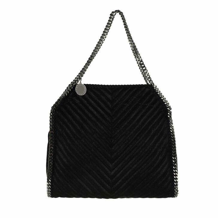 bags, Stella McCartney, Falabella Small Tote Bag Black