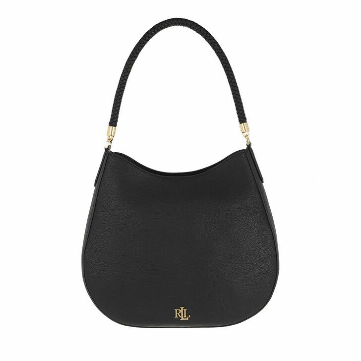 bags, Lauren Ralph Lauren, Charli 35 Shoulder Bag Large Black