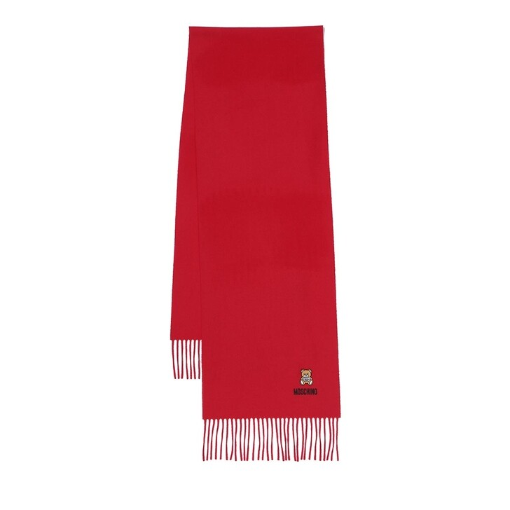 Schal, Moschino, Scarf Red