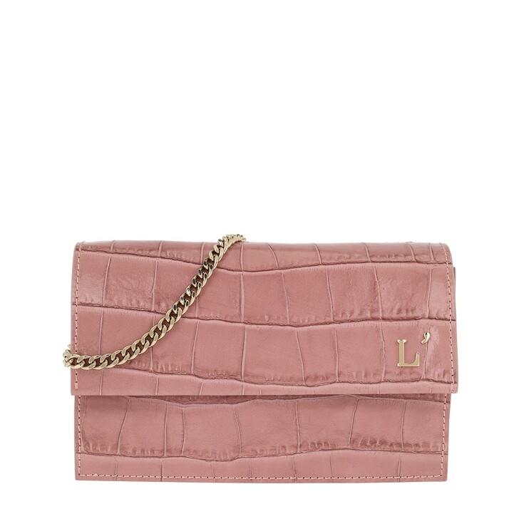 Handtasche, L´Autre Chose, Printed Pouch Ancient Pink