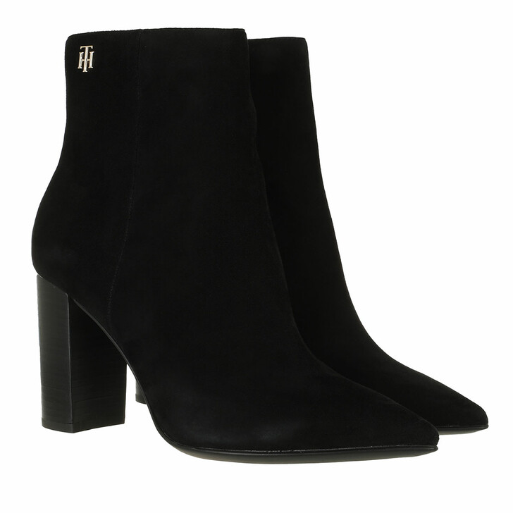 shoes, Tommy Hilfiger, TH Hardware Stud High Heel Boot Black