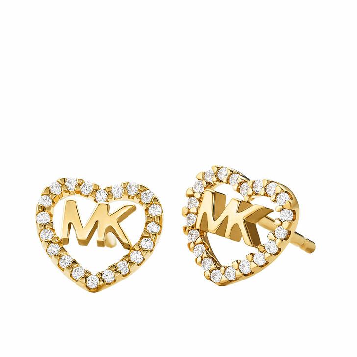 Ohrring, Michael Kors, MKC1243AN710 Hearts Earrings Gold
