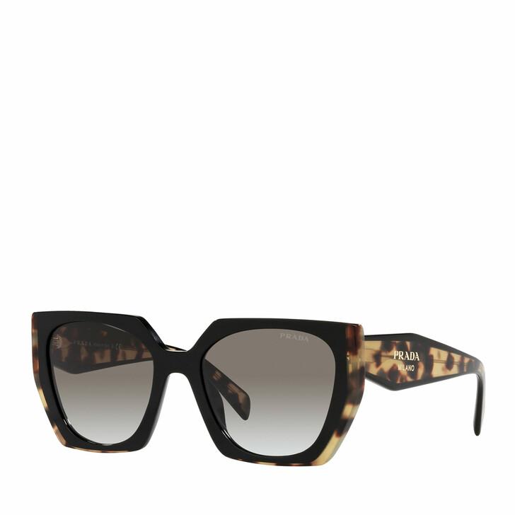 Sonnenbrille, Prada, 0PR 15WS BLACK/MEDIUM TORTOISE