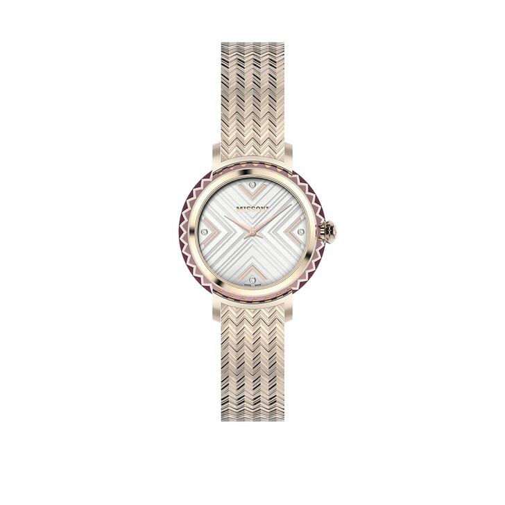 Uhr, Missoni, Watch CHEVRON (Y3) Rose Gold-Tone