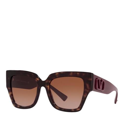 valentino -  Sonnenbrille - 0VA4082 - in braun - für Damen