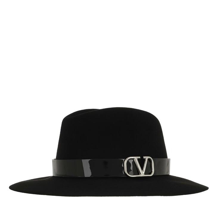 Mütze, Valentino Garavani, Fedora Black