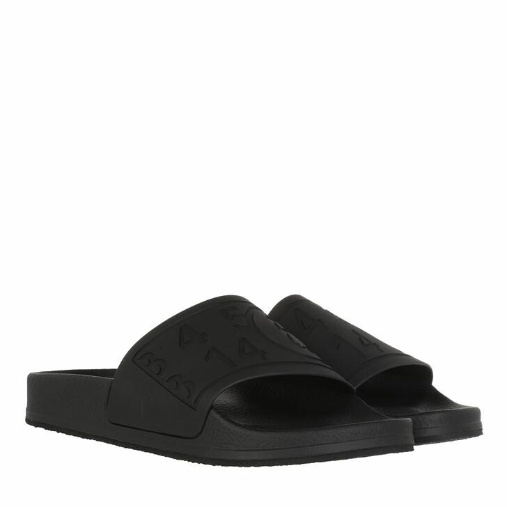 Schuh, MM6 Maison Margiela, Flats Matt TPU Black