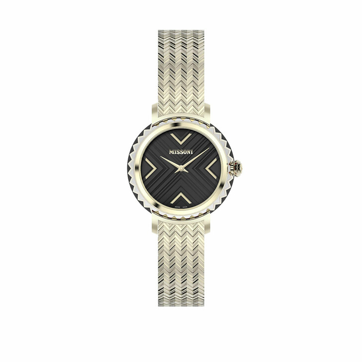 Uhr, Missoni, Watch CHEVRON (Y3) Gold-Tone