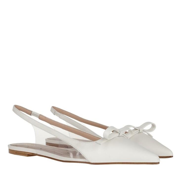 shoes, Red Valentino, Ballerina Milk/Transparent