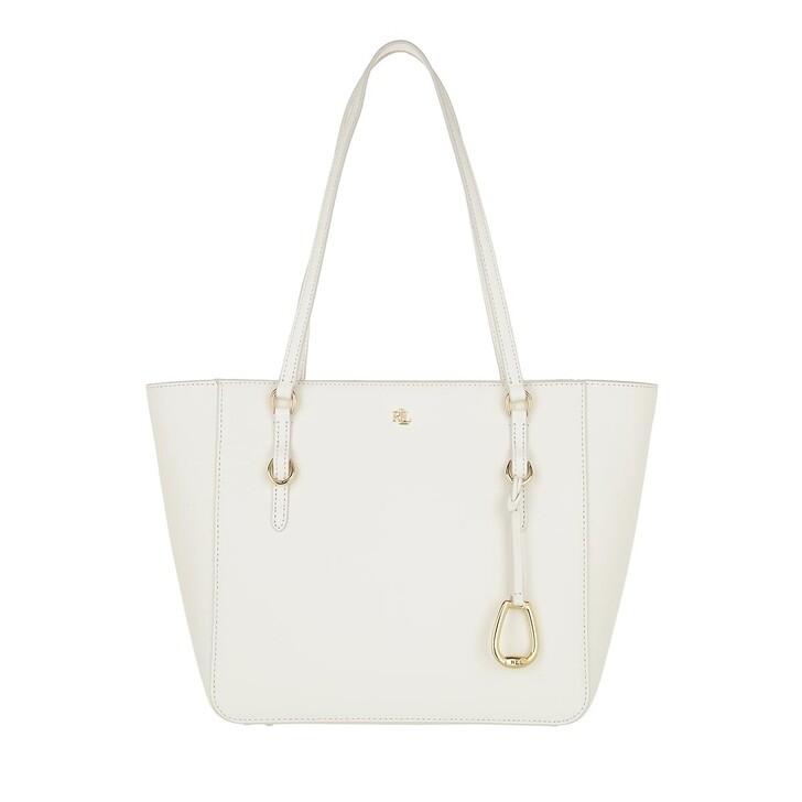 bags, Lauren Ralph Lauren, Shopper Medium Vanilla