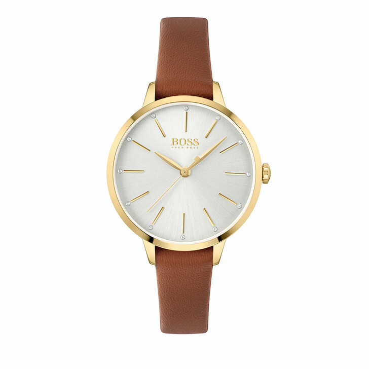 watches, Boss, Watch Symphony Brown