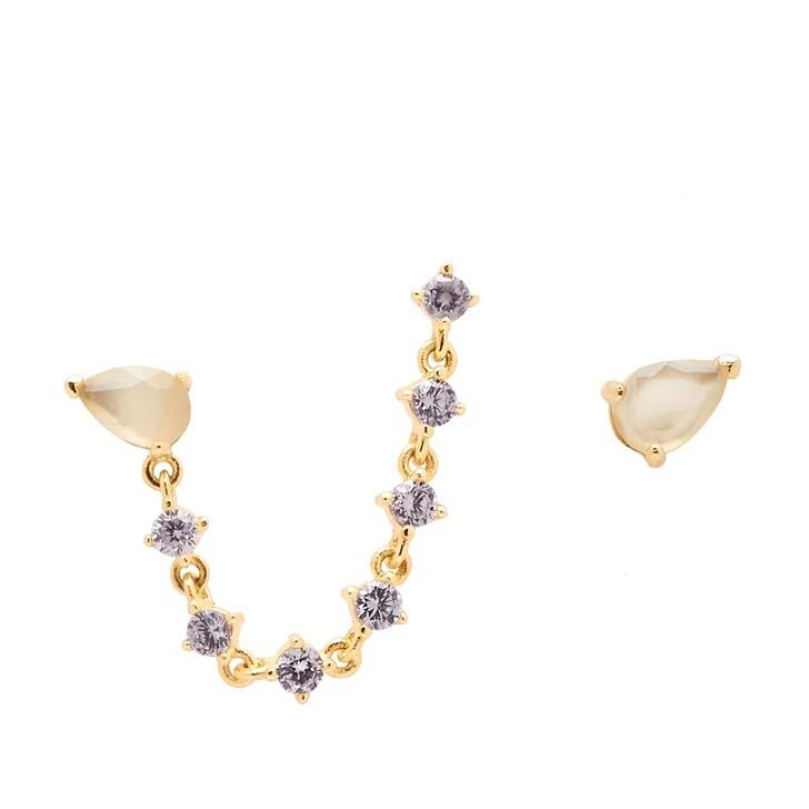earrings, PDPAOLA, Joanne Earring Yellow Gold