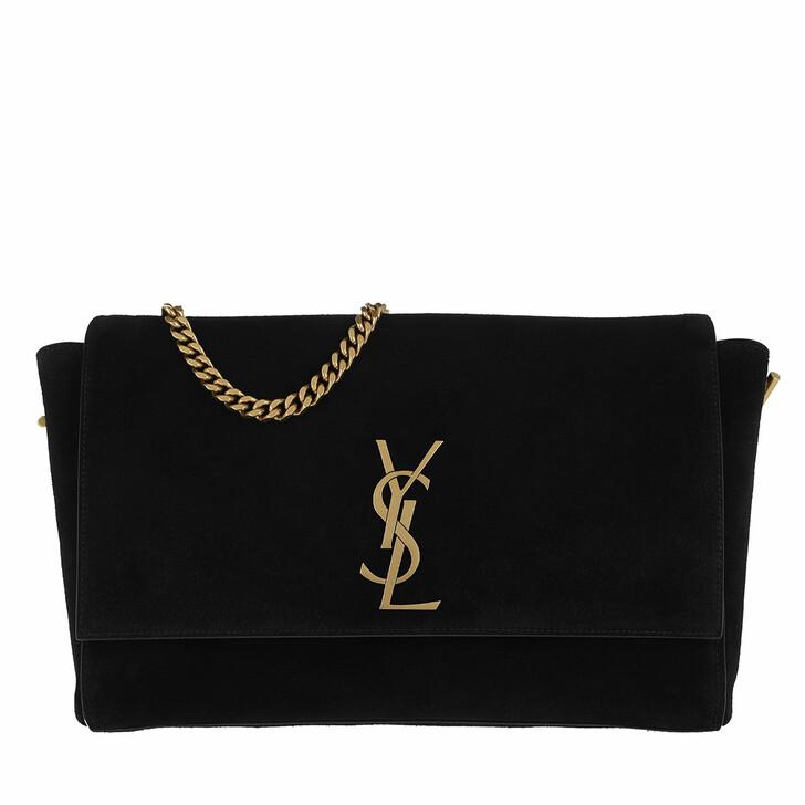 Handtasche, Saint Laurent, Reversible Kate Medium Leather Black