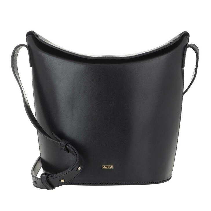 Handtasche, Closed, Anemone Large Shopping Bag Black