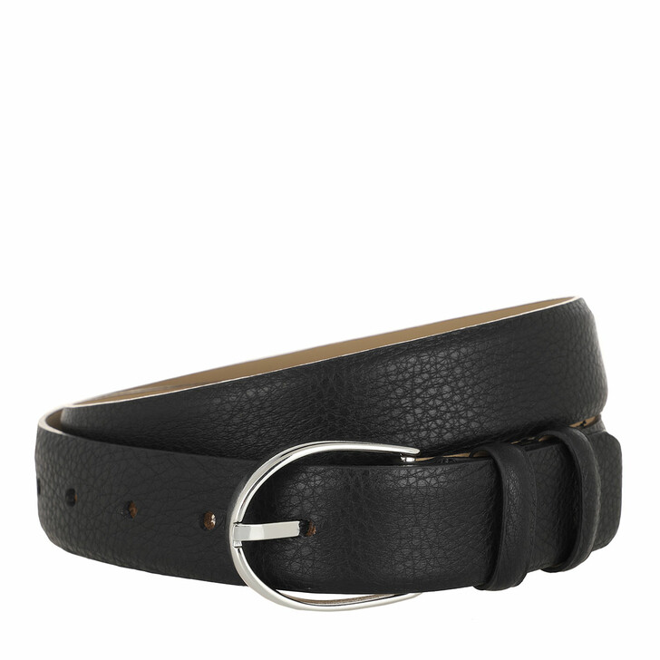 Gürtel, Abro, Belt Black Nickel