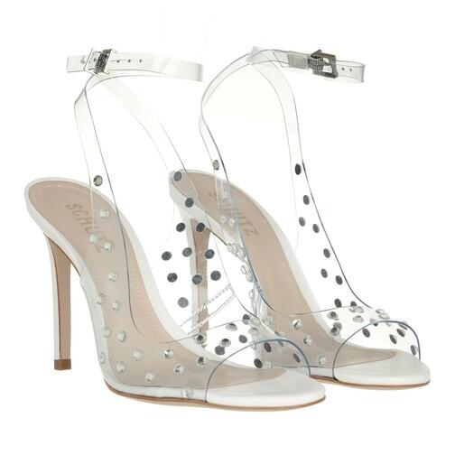 schutz -  Pumps & High Heels - Brieela Vinyl & Leather High Heels - in weiß - für Damen