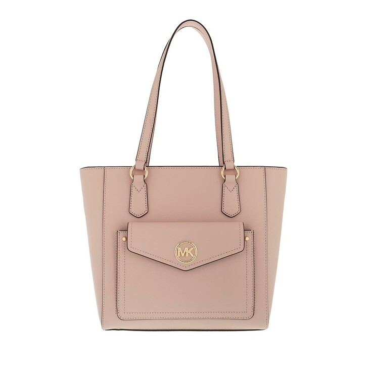 Handtasche, MICHAEL Michael Kors, Joey Medium Pocket Tote Soft Pink