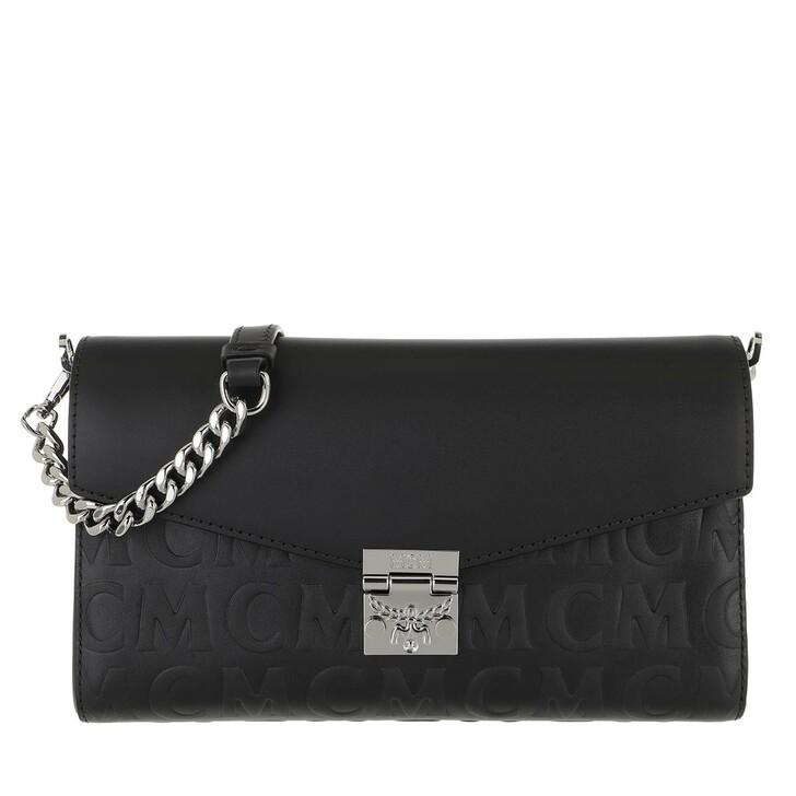 Handtasche, MCM, Me Mcm Mini Lthr Medium   Black