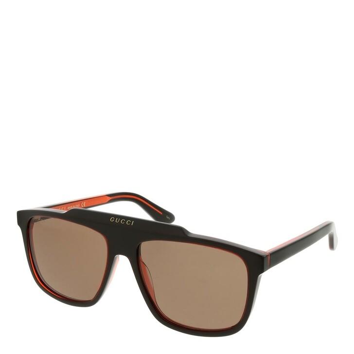 sunglasses, Gucci, GG1039S-003 58 Sunglass Man Acetate Black-Black-Brown