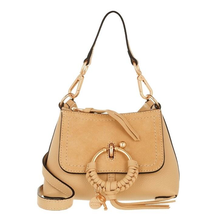 bags, See By Chloé, Joan Mini Crossbody Bag Seed Brown