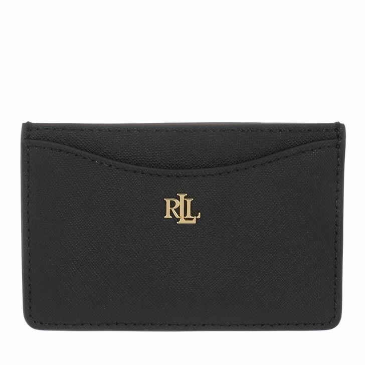 Geldbörse, Lauren Ralph Lauren, Slim Card Case Medium Black