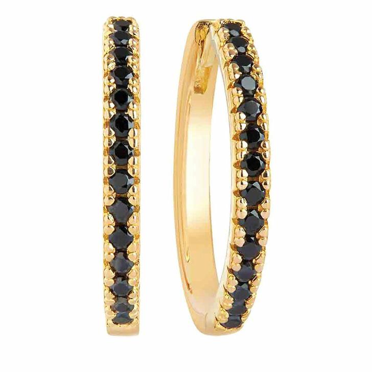 earrings, Sif Jakobs Jewellery, Ellera Grande Earrings 18K Yellow Gold Plated