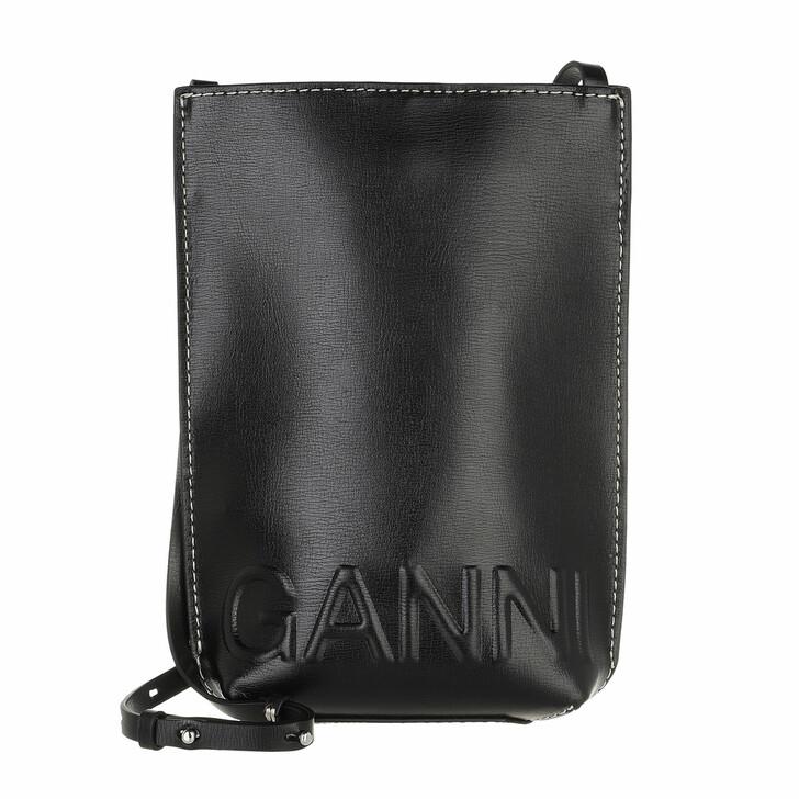 bags, GANNI, Small Crossbody Black