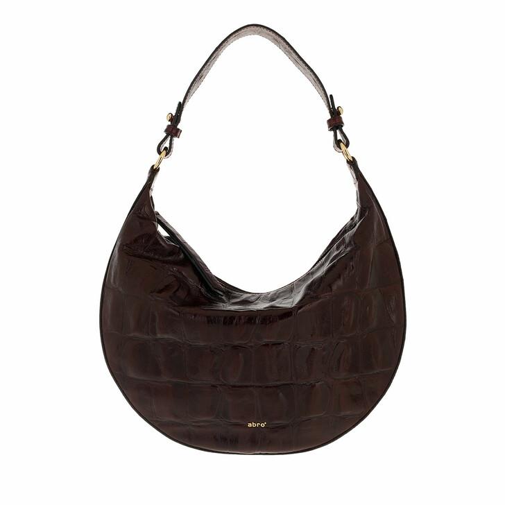 bags, Abro, Bucket LULU small  Dark Brown