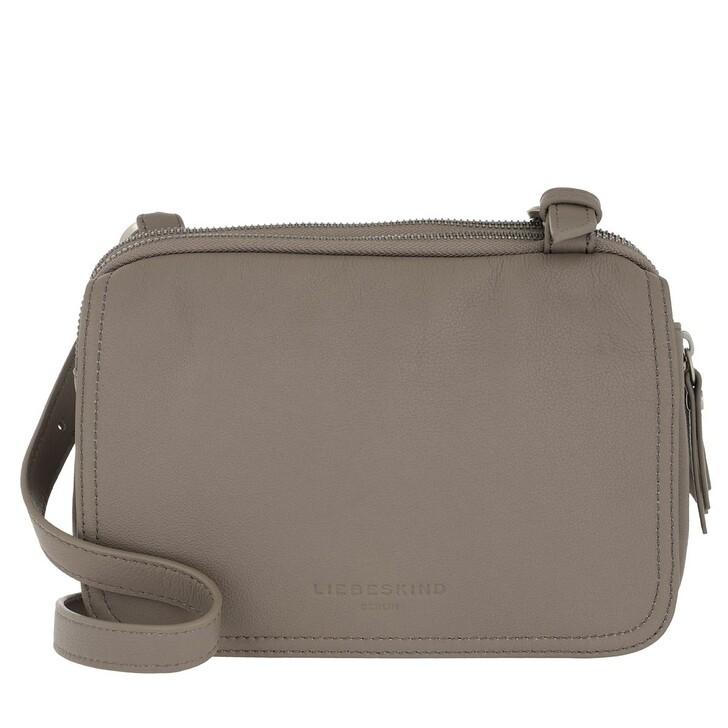Handtasche, Liebeskind Berlin, Mareike Crossbody Small Cold Grey
