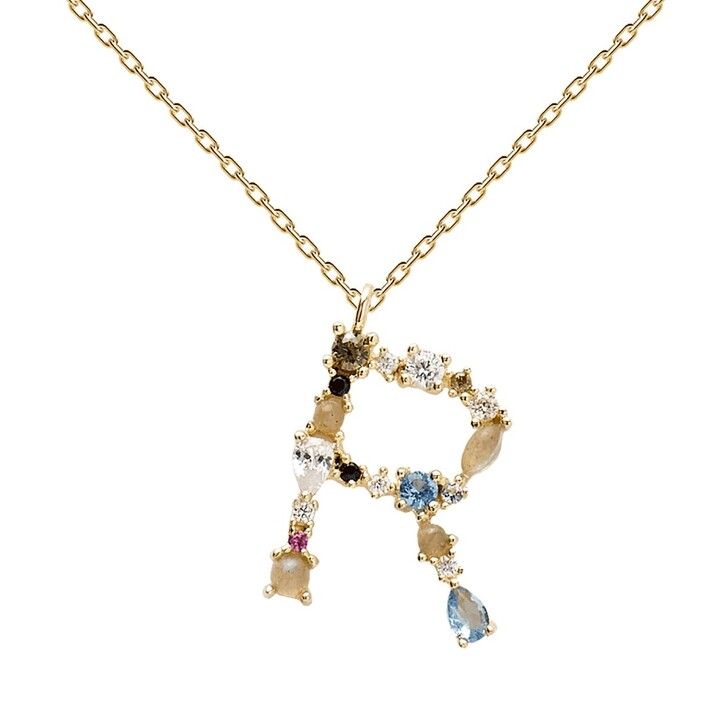 Kette, PDPAOLA, R Necklace Yellow Gold