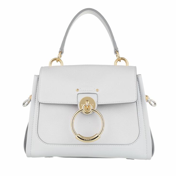 bags, Chloé, Tess Day Mini Crossbody Bag Leather Light Cloud