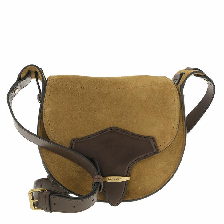 bags, Isabel Marant, Botsy Crossbody Bag Taupe