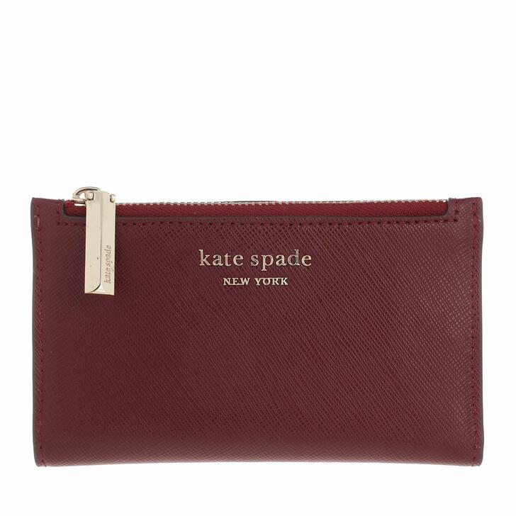wallets, Kate Spade New York, Small Slim Bifold Wallet  Grenache