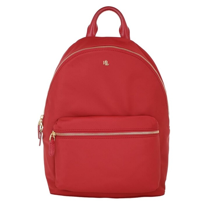 Reisetasche, Lauren Ralph Lauren, Clarkson 27 Backpack Medium Red