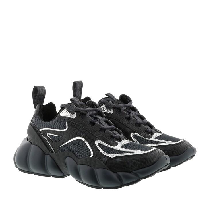 shoes, MCM, W Himmel LT Visetos Sneakers Black