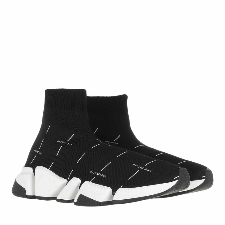 Schuh, Balenciaga, Speed 2.0 Sneakers Black/White
