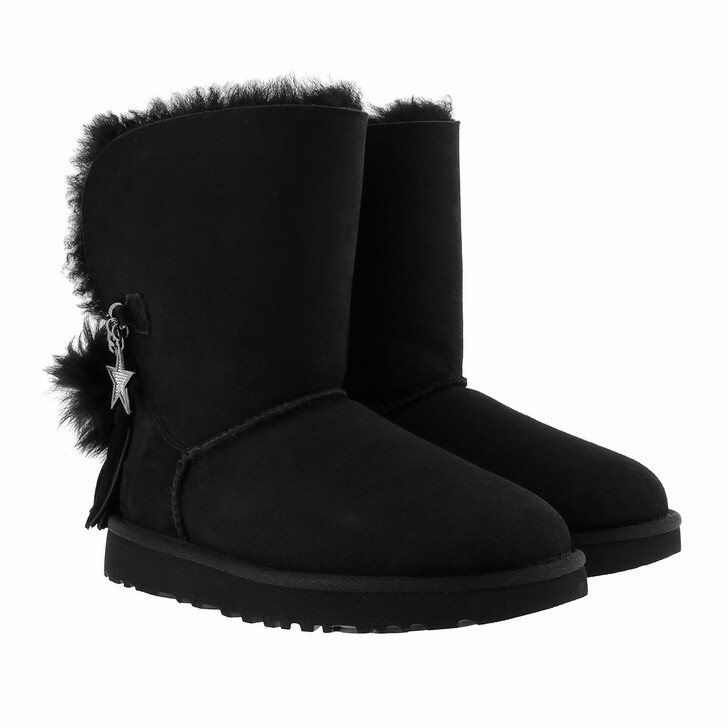 Schuh, UGG, W Classic Charm Boot Black