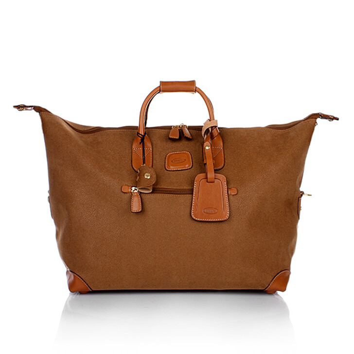Handtasche, Bric's, Life Travel Bag Camel