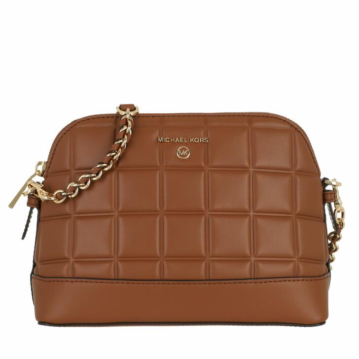 bags, MICHAEL Michael Kors, Large Dome Xbody Luggage