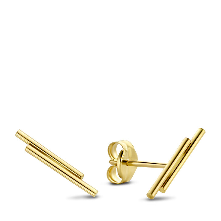 earrings, Isabel Bernard, Le Marais Barbã¨S 14 Karat Ear Studs With Rods Gold