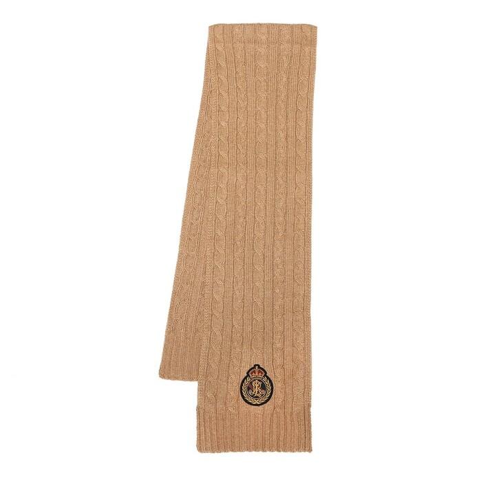 scarves, Ralph Lauren, Scarf Oblong Classic Camel