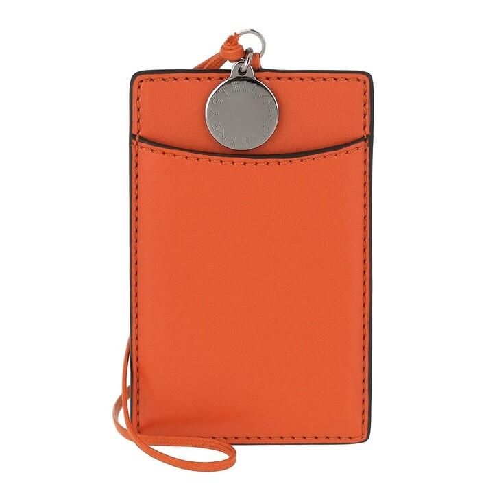 wallets, Stella McCartney, Card Holder Eco Alter Nappa Flame