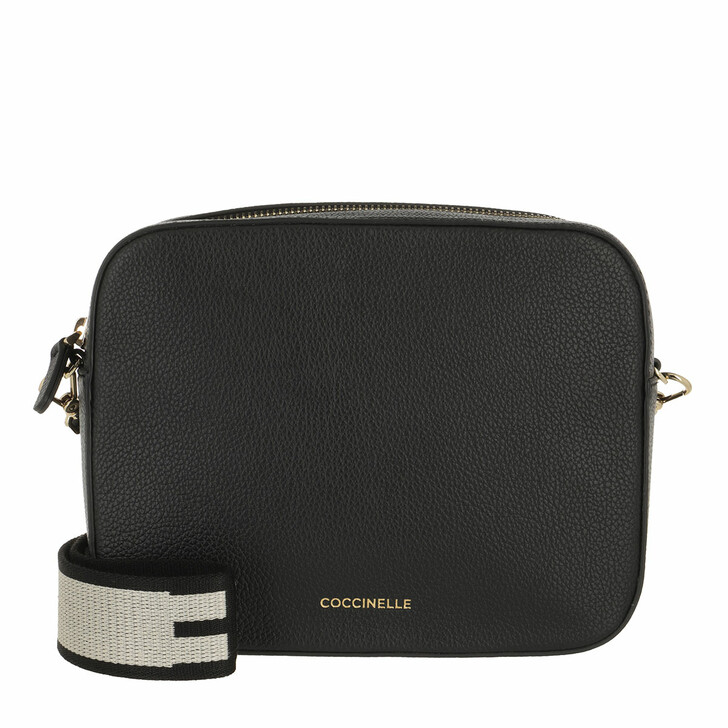 bags, Coccinelle, Mini Bag Bottalatino Leather  Noir
