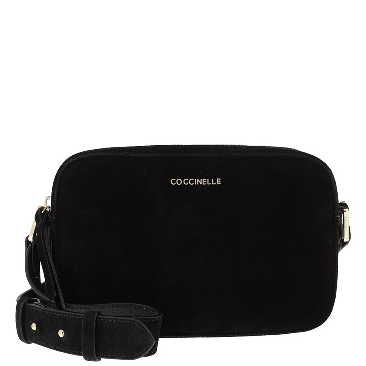 Handtasche, Coccinelle, Rendez-Vous Suede Noir