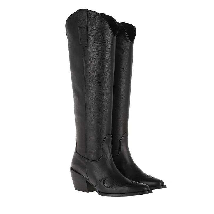 Schuh, Nubikk, Alex Gilly Boot Black Leather