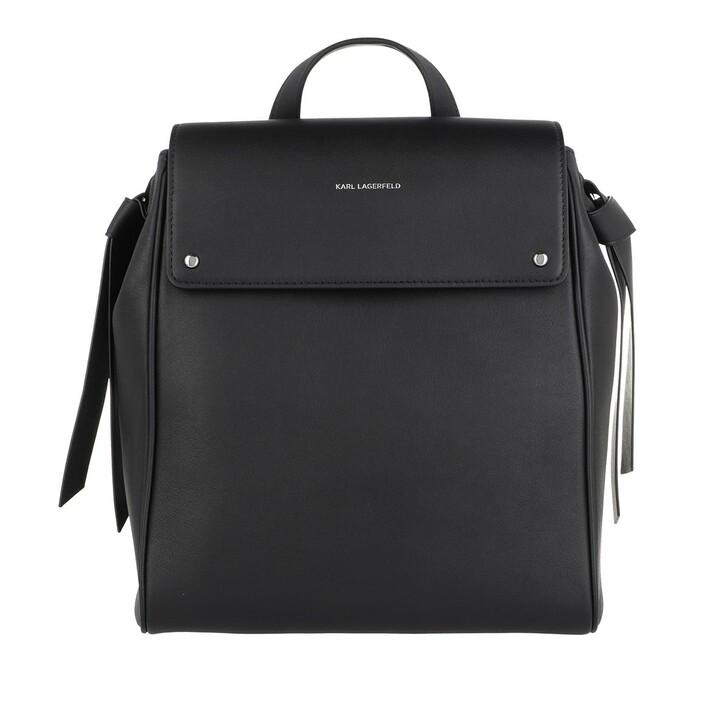 Reisetasche, Karl Lagerfeld, K/Ikon Backpack  Black
